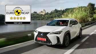 Lexus UX EuroNCAP 5 stars 01 16x9