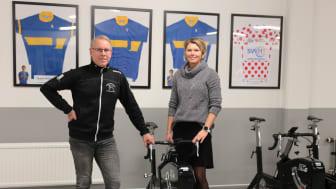 Lars Wahlqvist är lärare/tränare och Petra Björk samordningsrektor
