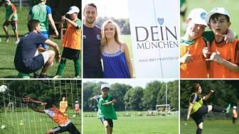 DEIN MÜNCHEN Fussballtag mit der Münchner Fußball Schule