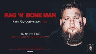 Den prisvindende Rag'n'Bone Man kommer til Royal Arena med sin 'Life by Misadventure tour' den 27. marts