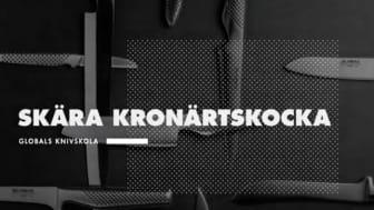 Globals knivskola: Skära kronärtskocka