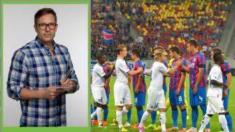 I 2014 spilte Strømsgodset kvalifisering til Champions League mot Steaua Bucharest. I dag ligger laget på nedrykksplass i Eliteserien. Thorstein Helstad har skrevet kronikk om situasjonen i Strømsgodset.