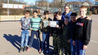 Thoren Framtids elever i årskurs 4 i Kalmar har fått göra Matematikbesök på 4H-gården i Skälby.