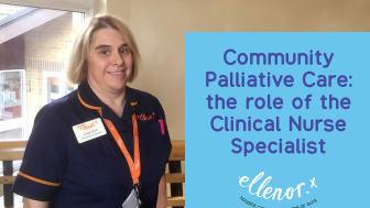 Linda Cahill, ellenor Clinical Nurse Specialist