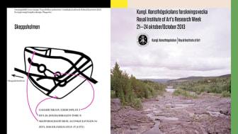 Välkommen till Kungl. Konsthögskolans forskningsvecka 2013!