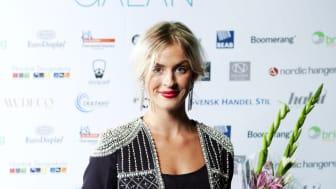 Vinnare Årets Butikssäljare Habit Modegalan 2012 - Isabelle Griph, Bikbok, Linköping