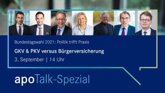 apoTalk Spezial: GKV und PKV versus Bürgerversicherung – Was plant die Politik?