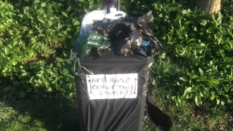 Take your litter and dog mess home