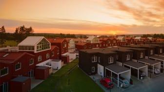 Titania vann Årets Stadsbyggnadsprojekt 2017 i Täby