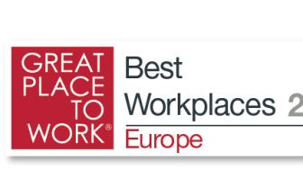 Frontit utsett till en av Europas Bästa Arbetsplatser 2015