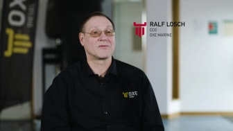 Episode one of our interview series with OXE Marine CCO, Ralf Losch.