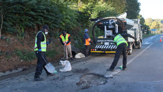 Over 10 000 Road Defects Fixed by the Pothole Patrol