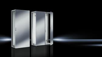 Det nya Rittal VX25-kapslingssystemet erbjuder ett stort mervärde tack vare systemets tekniska egenskaper, enkelt montage och höga säkerhetsnivå. Nu finns alla dessa fördelar också tillgängliga i rostfritt stål och NEMA 4X-versioner.