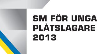 "Logo ""SM för unga plåtslagare 2013"""
