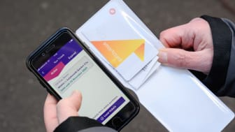 Using the key smartcard at Hitchin