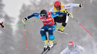 World Cup i Skicross på Idre Fjäll 13 februari