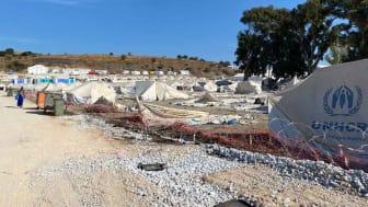 Das Behelfslager Kara Tepe wurde nach dem Brand in Camp Moria neu errichtet. (Quelle: Solingen hilft e.V. )