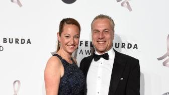 Hendrik Hey mit Ehefrau Esther