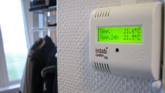 Fjärrövervaka inomhusklimatet