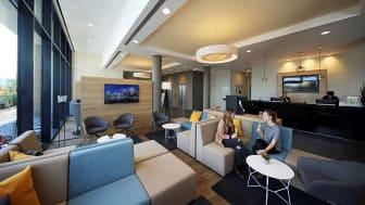 Lounge des neuen LOGINN by Achat