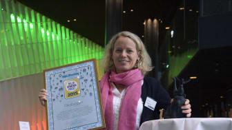 Riksbyggen vinnare av Miljöstrategipriset