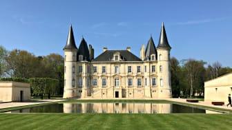 Château Pichon-Baron - en av de runt 50 egendomar som är representerade på Årets Stora Bordeauxprovning.