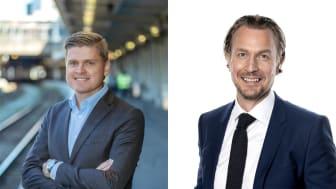 Mats Johannesson tar över vd-rollen på MTR Pendeltågen och Joakim Sundh blir ny vd på MTRX