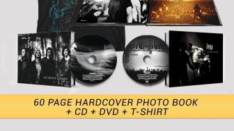 Gojira slipper live CD/DVD og fotobok