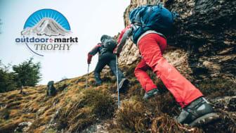 """Gut unterwegs. Maier Sports zählt zu den Nominierten für die Wahl zur """"Outdoor-Marke des Jahres 2021"""". Jeder kann abstimnmen."""