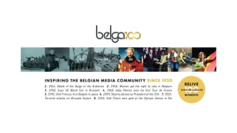 Belga fête ses 100 ans!