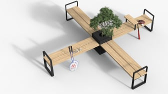 Central möbelsystem, design Thomas Bernstrand