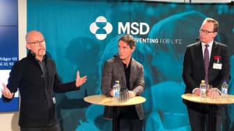 Från vänster: Ted Schönbeck, Kalle Conneryd Lundgren, Daniel Forslund  Foto:MSD.