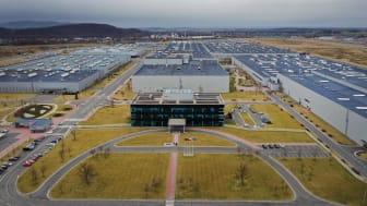 Hyundai startar produktion av Kona Electric på HMMC i Tjeckien.