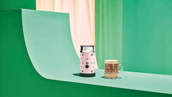 Nespresso x Chiara Ferragni Aeroccino 3 och Nespresso x Chiara Ferragni Coffee Mug