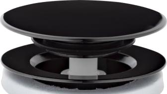 Push down-ventil Black