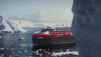 MS Roald Amundsen - B-roll footage