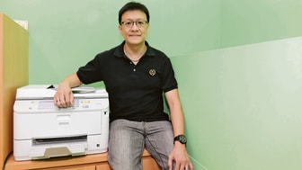 The Epson WorkForce Pro WF-5621 came to mind when Mr Lawrence Lim, Managing Director of Daily Food Supplies, was looking for a office laser photocopier that was fast and reliable.