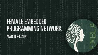 Det kvinnliga programmeringsnätverket Embla strävar efter att öka intresset för inbyggda system och teknik
