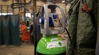 Gassflaske med EVOS™ ViPR.