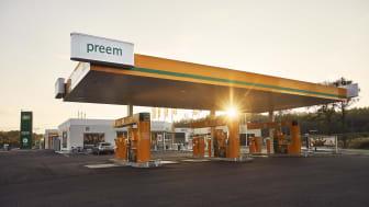 Securitas tecknar avtal med Preem som avser parkeringsservice på samtliga stationer i Sverige. Foto: Preem.