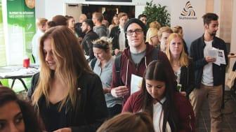 Studenter vid Högskolan i Gävle 2017