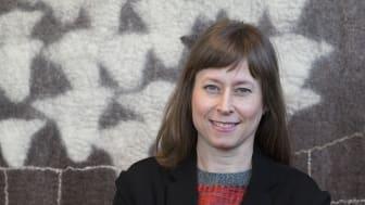 Annelie Kurttila blir från och med 1 juni ny länsmuseichef. Foto: Lenita Gärde