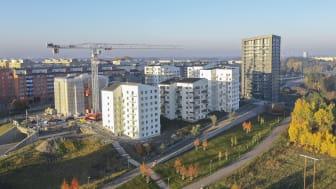 ByggVesta minskar C02-utsläppen med 25 % utan att öka byggkostnaderna