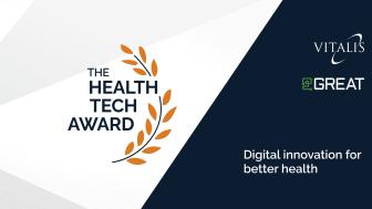 Nytt pris hyllar innovativa healthtech-lösningar på Vitalis