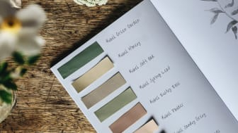 Nordsjö Kubel Colour Collection - all 8 colours