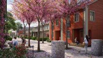 Fabriksbyggda bostadsområden ska ge ökad trivsel