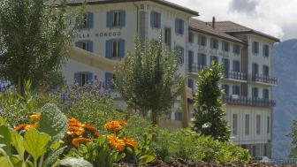Der Kräutergarten der Villa Honegg