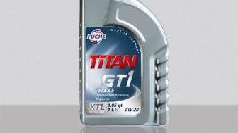 TITAN GT1 FLEX 5 SAE 0W-20 - En motorolja med låg viskositet för flera olika bilmärken
