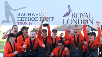 Rachael Heyhoe Flint Trophy returns alongside new Women's Regional T20