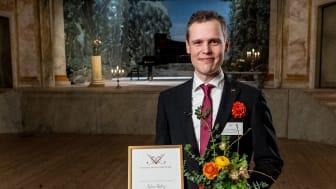 Fabian Düberg, Confidencen-stipendiat 2021